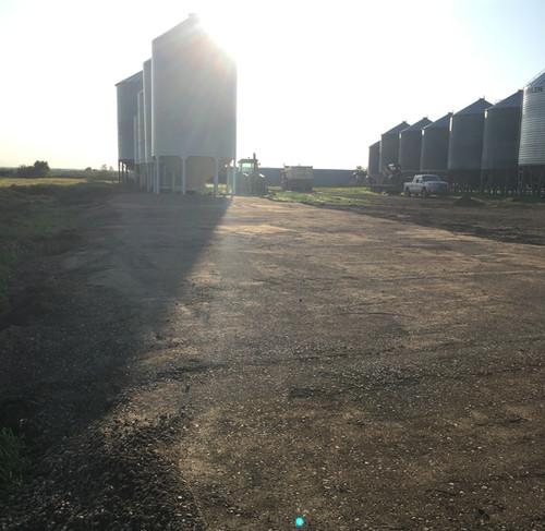 Grain Bin Pad