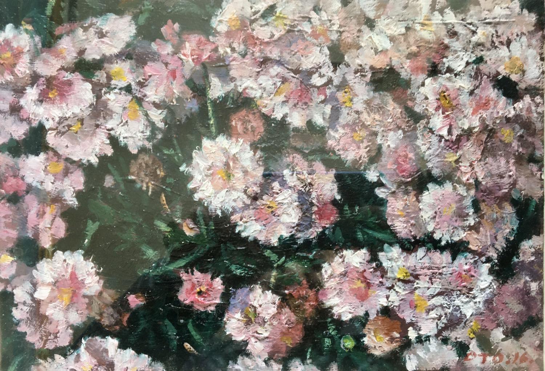 박재웅3, 마가렛, 23 x 18 cm, oil on canvas, 20