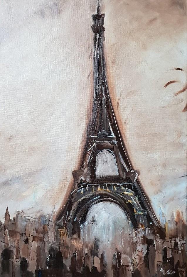 최수란 2 파리의 가을, 41x61cm, Oil on Canvas, 20