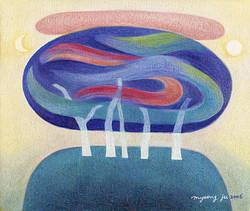 봄그림자45.5×37.9.oil-on-canvas