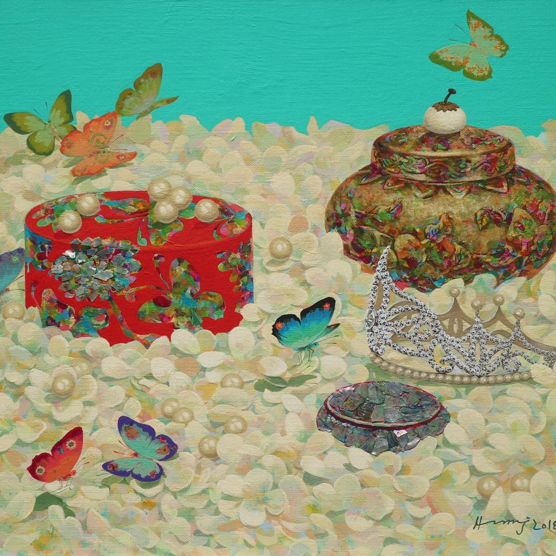 014 기억의 향기 53x45.5cm Acrylic on canvas 2