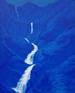 토왕성폭포1, 72 x 91cm, acrylic on canvas, 20