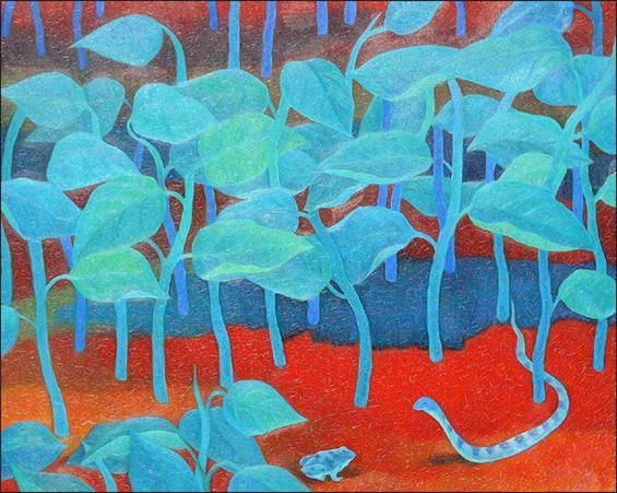 서늘한 여름 90.9 x 72.7 Oil on canvas