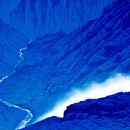 015, 토왕성폭포2, 91 x 72 cm, acrylic on canv