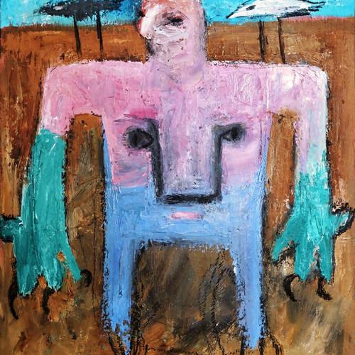 010, 최우, 비행기, 45 x 53 cm, oil on canvas,