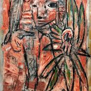 004, 최우, Judith, 72.7 x 90.9 cm, oil, ch