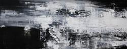 007, 연상록, 재너머 가는 길 -윤슬-, 180 x 70 cm, 오일