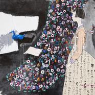 005. 최경자, Alpha Girl 1917, 160 x 121 cm,