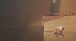 10.  명경지수. 100x54cm. oil on canvas. 2015