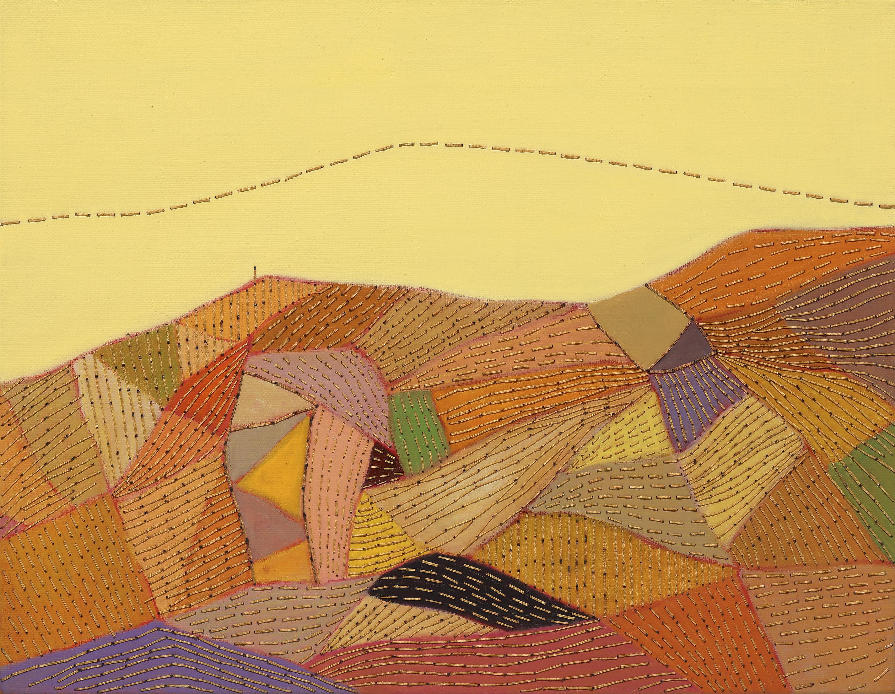 최윤희4, Mind map 12-34, 32 x 41 cm, Mixed