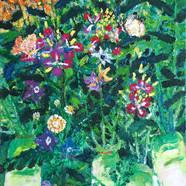 024, 민해정수, 초보농부 텃밭, 45.5 x 53.0 cm, Oil