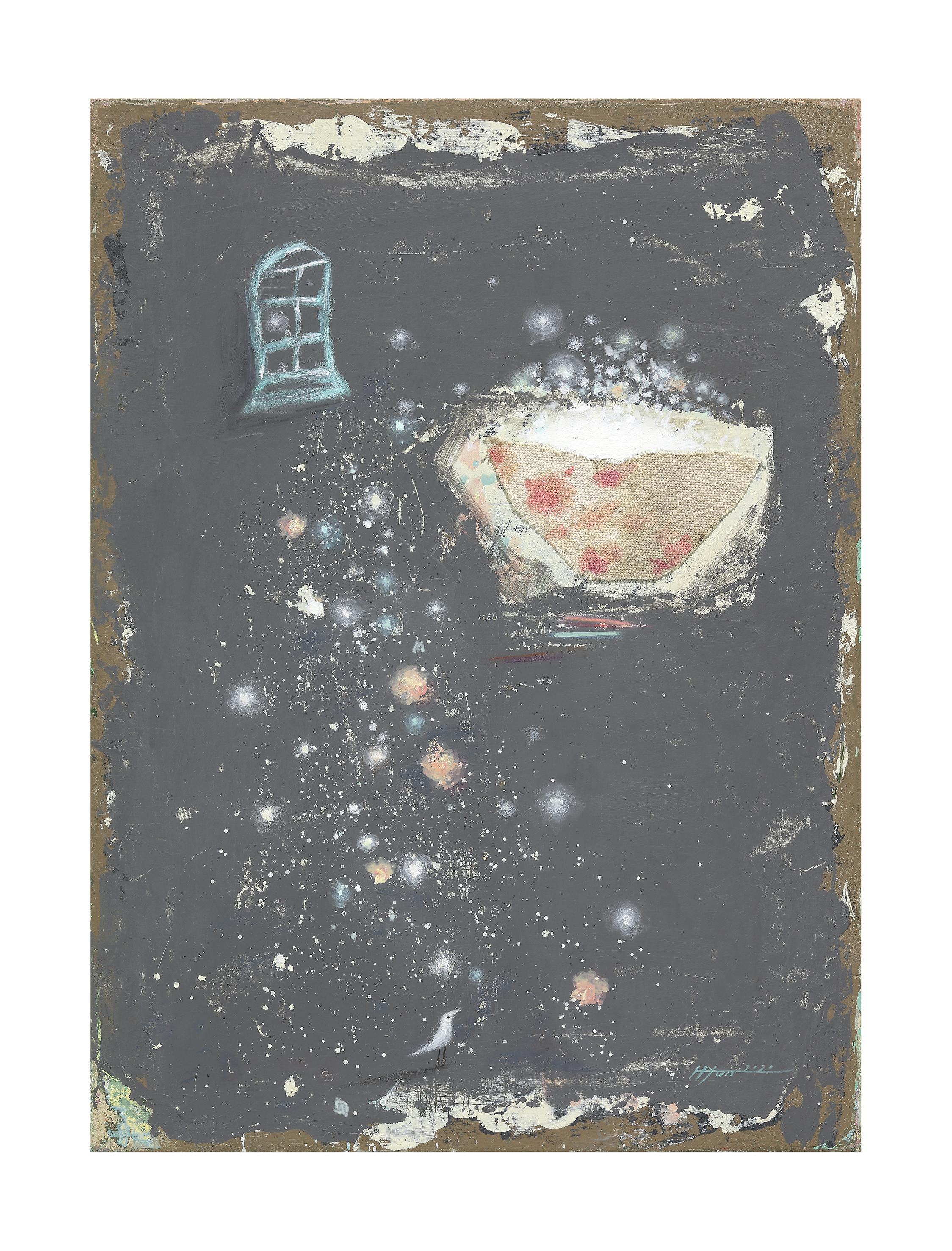 김현영1, gift 선물, 45.5 x 33