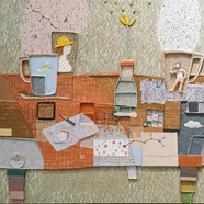 013, 김형길, 제일이라20, 72.7 x 90.0 cm, 캔버스 위에