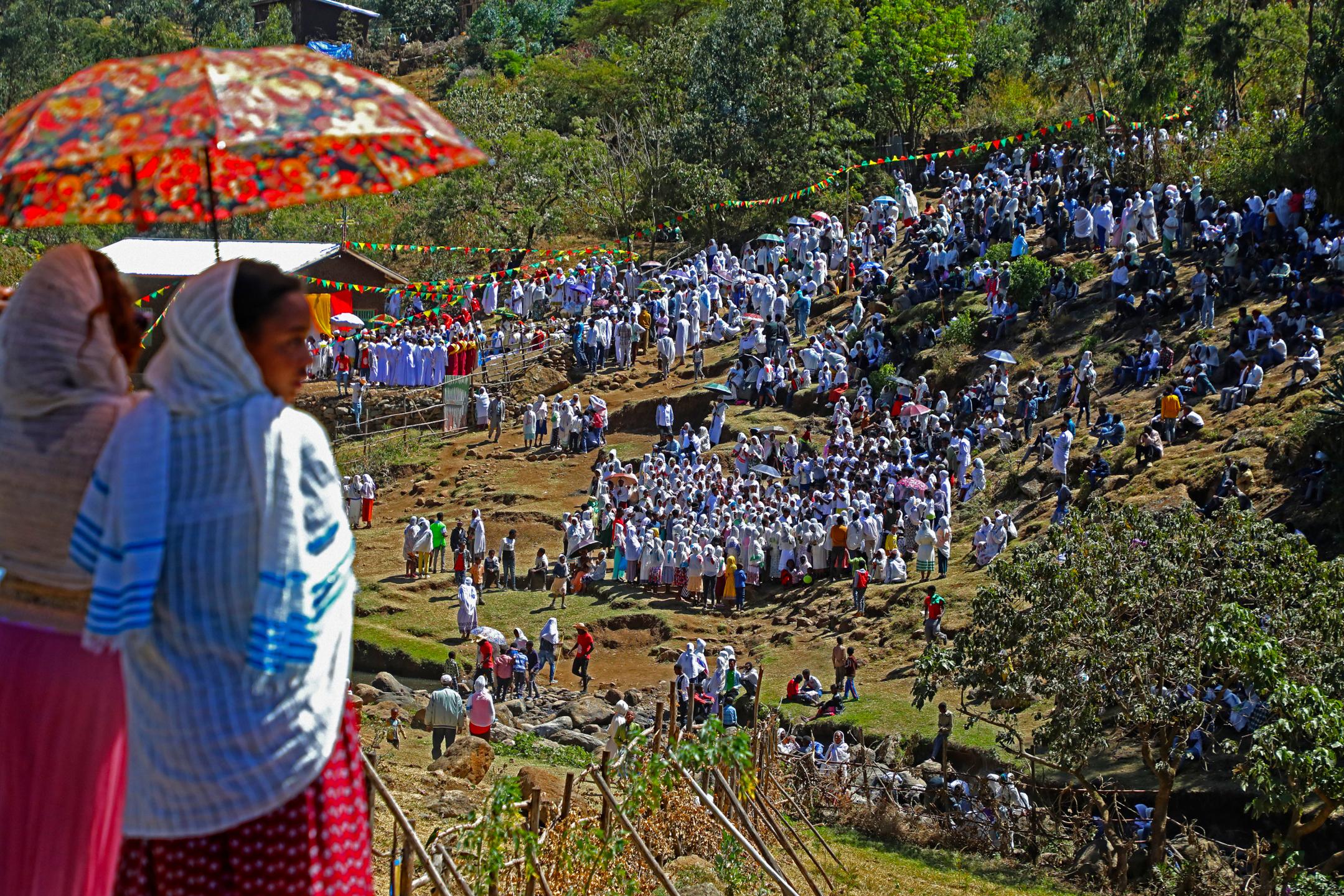사람_뜸카트(예수공현축일), 아셀라_에티오피아, 30.5 x 45