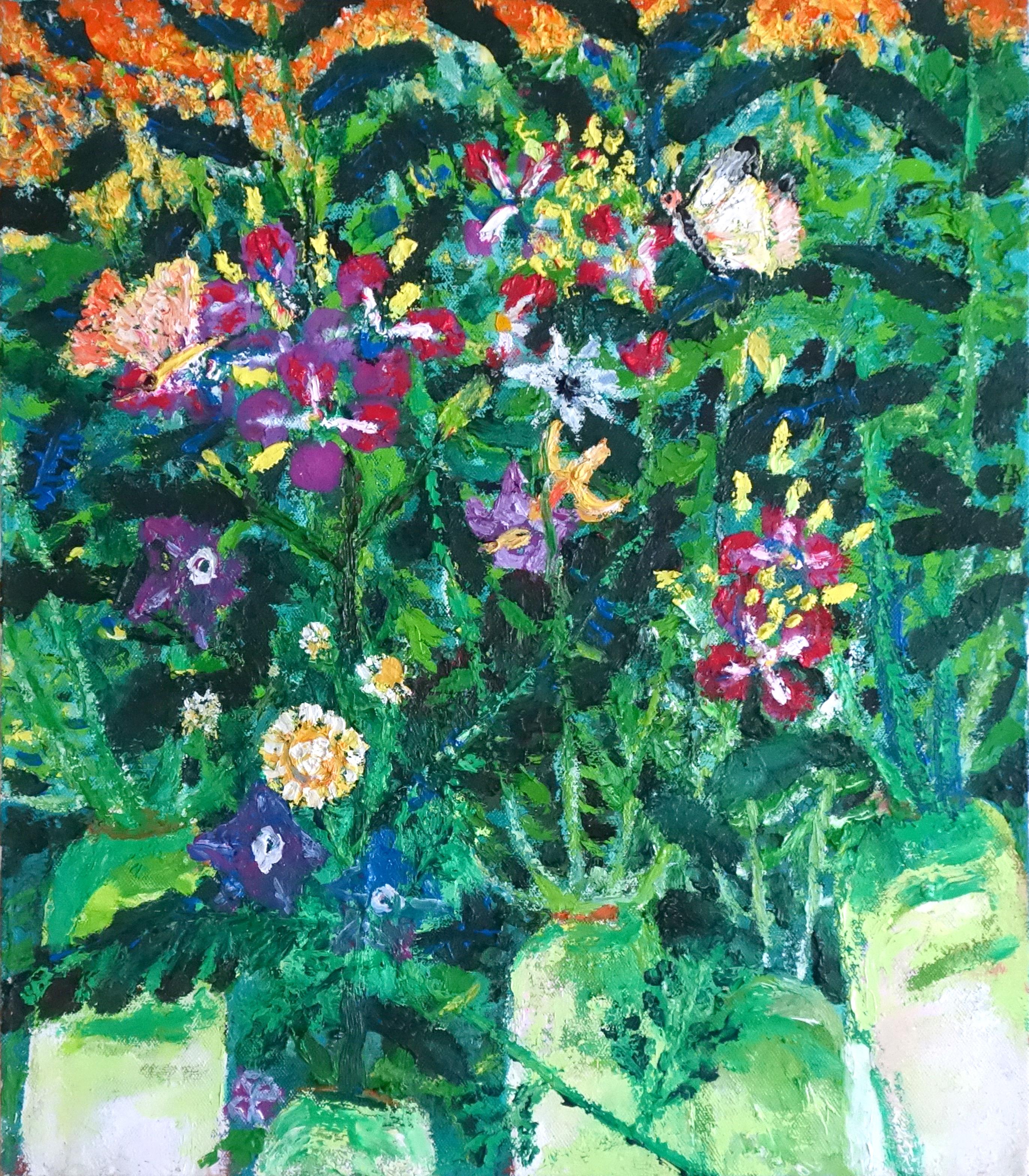 민해정수, 초보농부 텃밭, 45.5 x 53