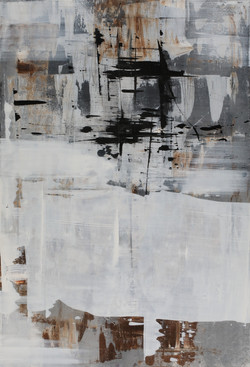 006, 기억의 소환-冬, 80 x 117 cm, 캔버스에 유화물감, 2