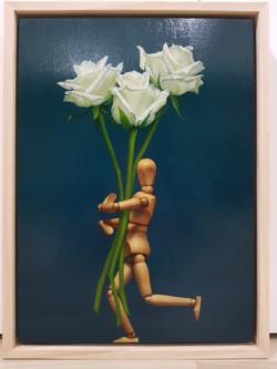 장필교1, 꽃사세요, 33.4 x 24