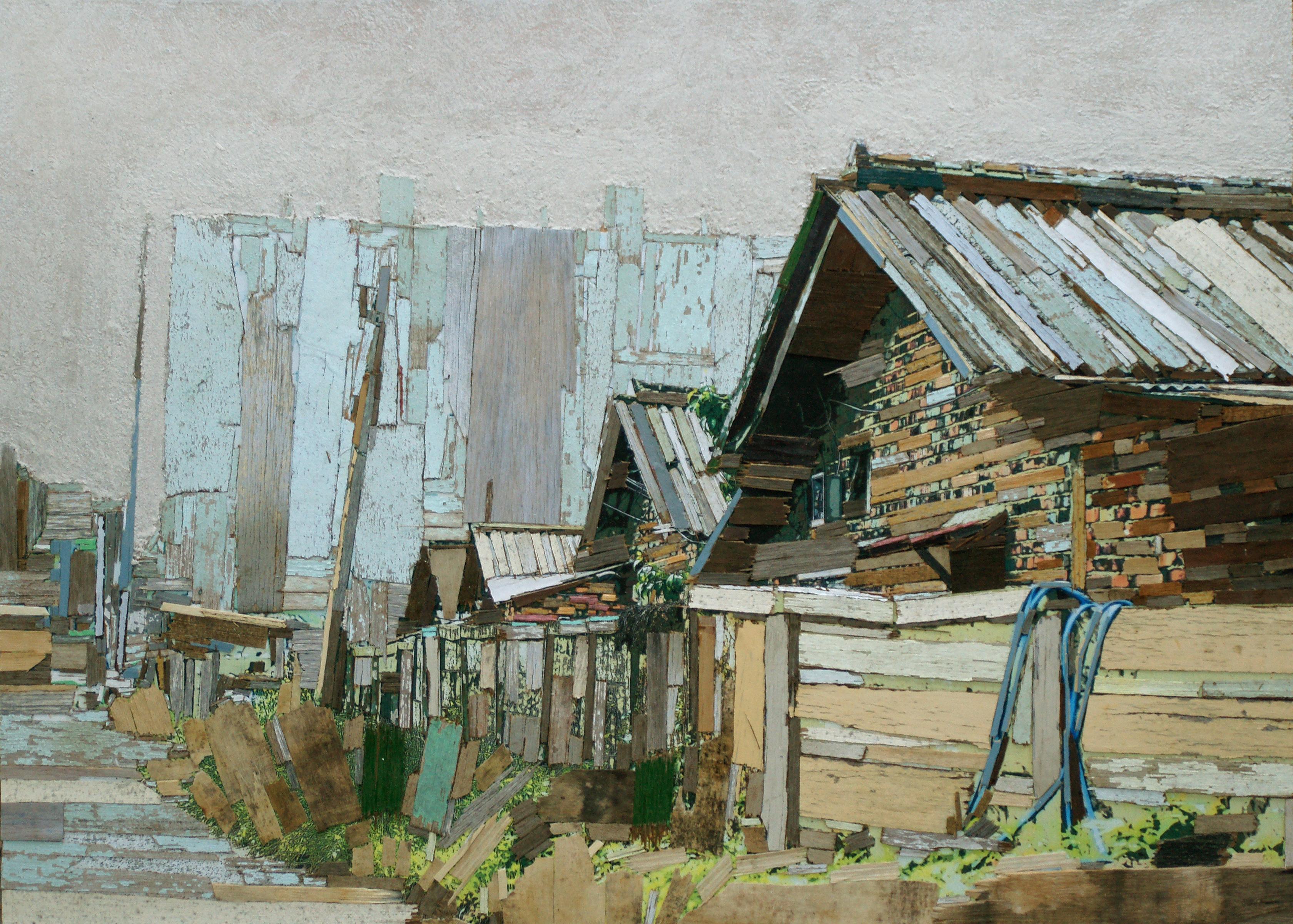 020, 이부강, trace 887-3 (영신연와), 73 x 53 cm