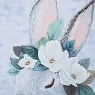 020, 박계숙, 나르시스의 정원-11, 23 x 34 cm, 캔버스에