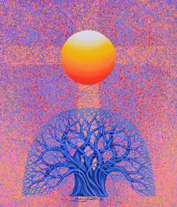 008 Sunrise - Faith , Hope. and. Love, 53x45.5cm, Acrylic on Canvas, 2018_.jpg