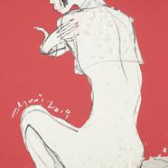 018. 최경자, Alpha Girl 1926, 38.0 x 45.5 c
