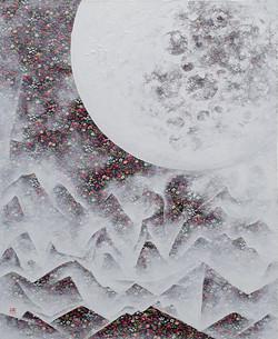 김성호2, 달빛, 42.5 x 52