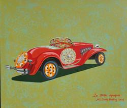 020, 황미정, La belle epoque-2, 45.5 x 53