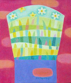 (차명주 2) _ 수선화,53x45.5cm,oil on canvas