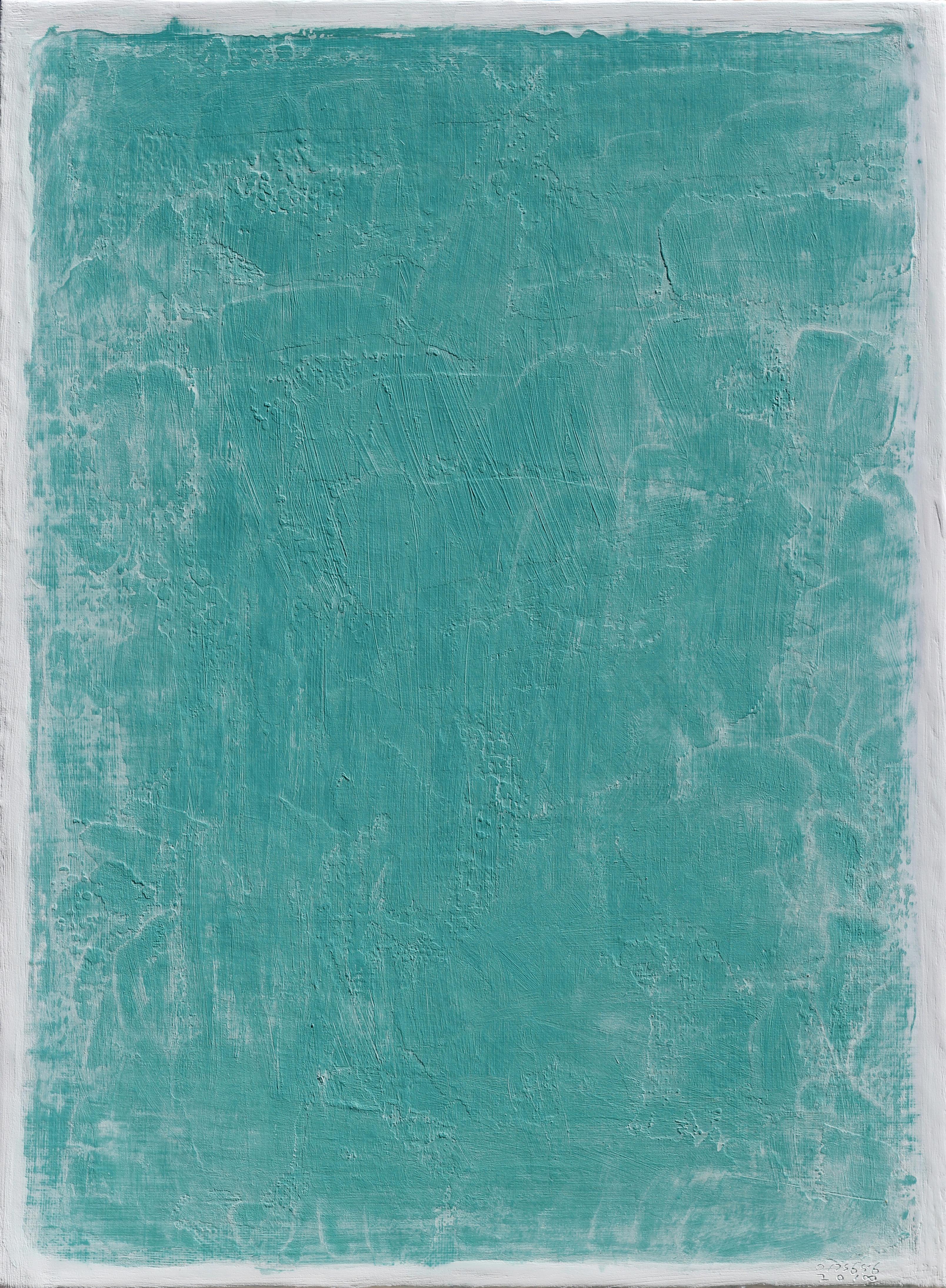 (이경성 1) _ 경계의끝_캔버스위에 소멸침식법,45.5 x 33.4 cm,2018