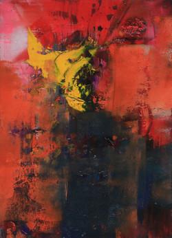 003, 기억의 소환-가을서정, 32 x 23 cm, 캔버스에 유화물감,