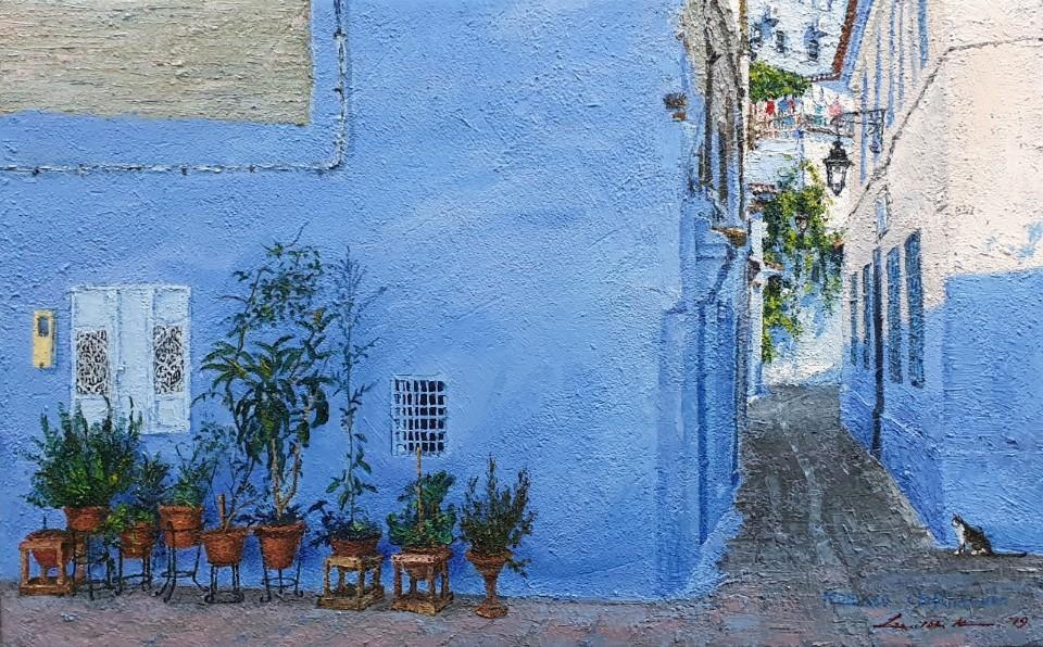 003, 이미경3, 쉐프샤우엔(모로코), 53.0 x 33