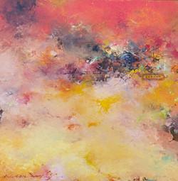 014, 권영범, 어떤여행 (un Voyage), 31.5 x 32.5 cm, Oil on canvas, 2021, 150만원