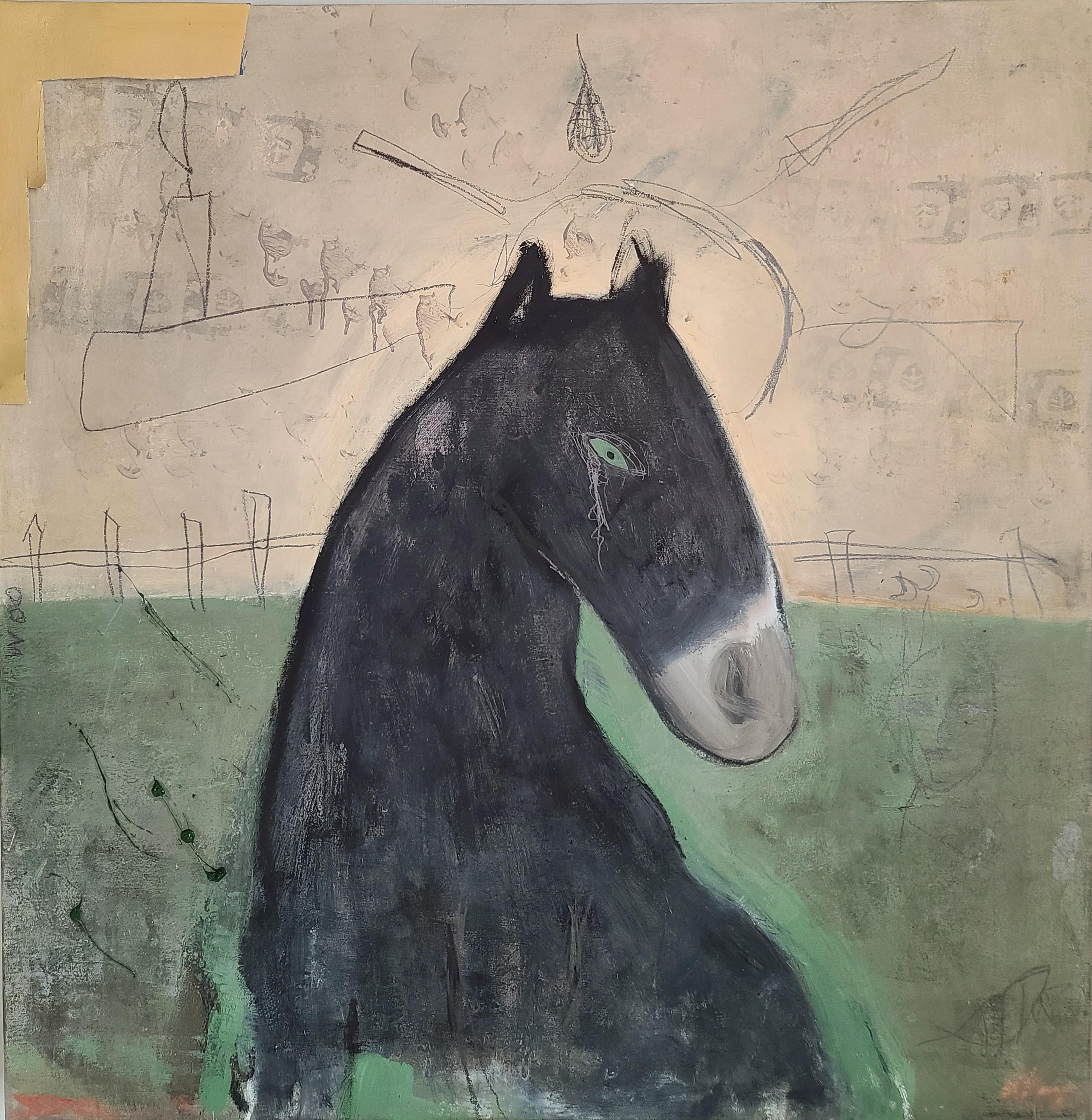 022, 최우, untitled, 90 x 90 cm, oil on ca