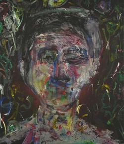 정의철3, 낯35, 53 x 45 cm, Acrylic, 2019