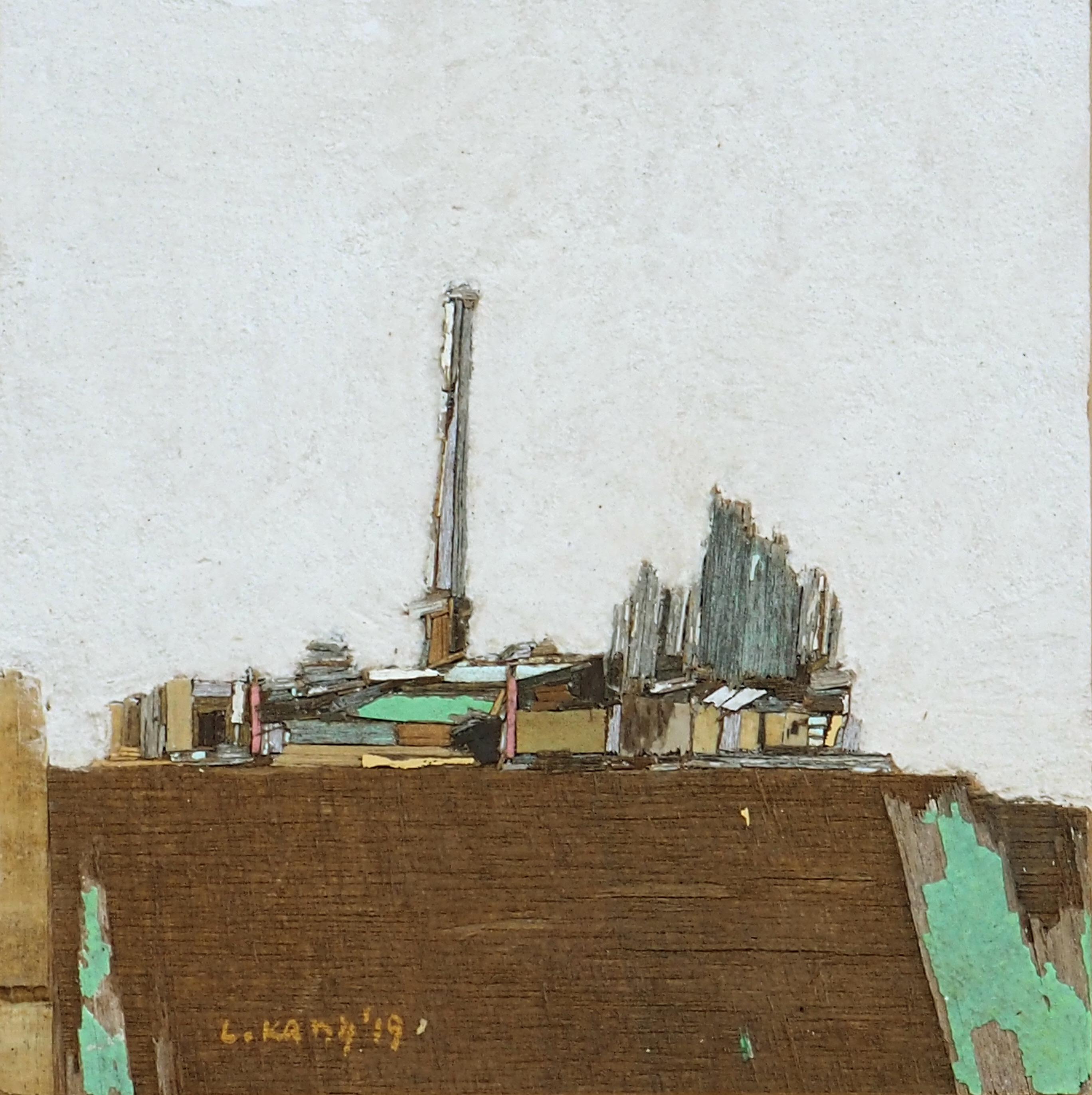 이부강3-2, trace 887, 20 x 20 cm, Mixed med