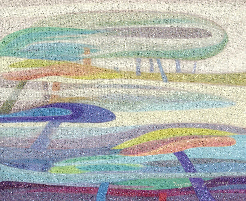 꽃샘추위.60.6×50.0.oil-on-canvas