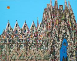 004 황미정, 사그라다 파밀리아 성당 (스페인), 90.9 x 72