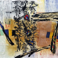 008, one's home town 18120, 97 x 130 cm,