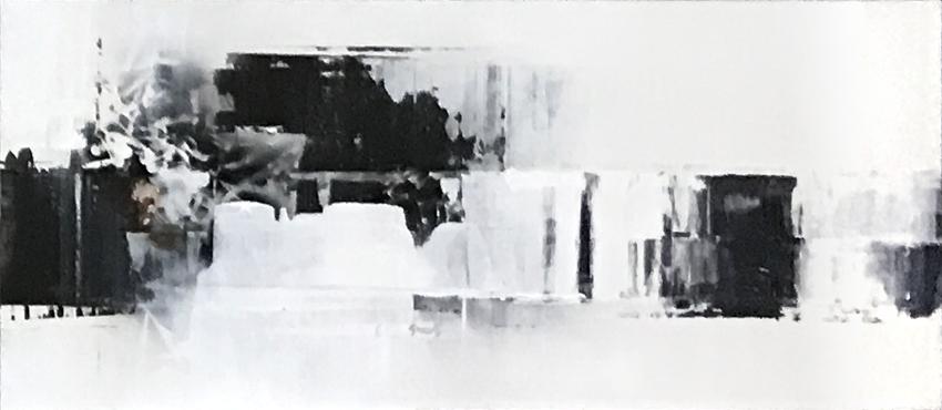 연상록(4-2)_적벽강의 서정(2)_61cm x 142cm_아크릴 및 혼