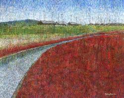 015, 변해정, 함초밭, 91.0 x 116