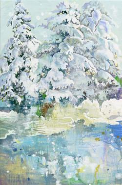 031, 박계숙, 나르시스의 정원-겨울2, 40.5 x 27