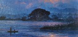 우포늪이야기-흐르는시간 97x162.2cm oil on canvas 2016 2000만원 (9)