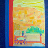 001, 차명주, 에잇벤하두, 72.7 x 90.9 cm, 캔버스에 유화