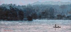우포늪이야기-흐르는시간 97x162.2cm oil on canvas 2016 2000만원 (5)
