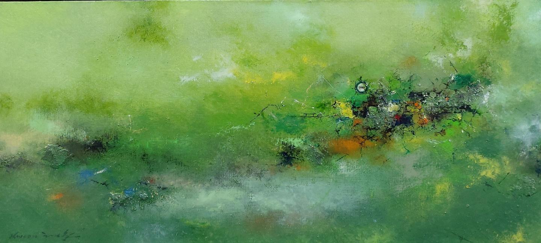 001, 권영범, 어떤 여행(Un Voyage), 86 x 39 cm,