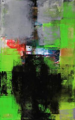017, 기억의 소환-冬, 53 x 33 cm, 캔버스에 유화물감, 20