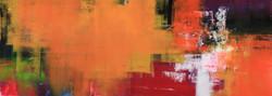 015, 연상록, 기억의 소환, 115 x 41 cm, 캔버스에 유화물감