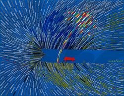 018, 최윤희, Mind map 20-25, 41 x 32 cm, 캔버