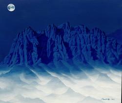 조광기, 청산사유(울산바위), 45 x 52 cm, 혼합재료, 2020,