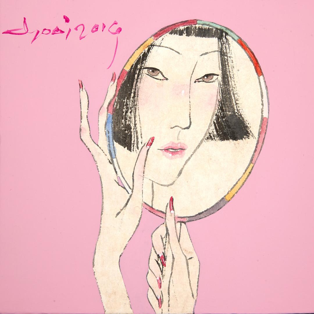 008. 최경자, Alpha Girl 1937, 20 x 20 cm, 한